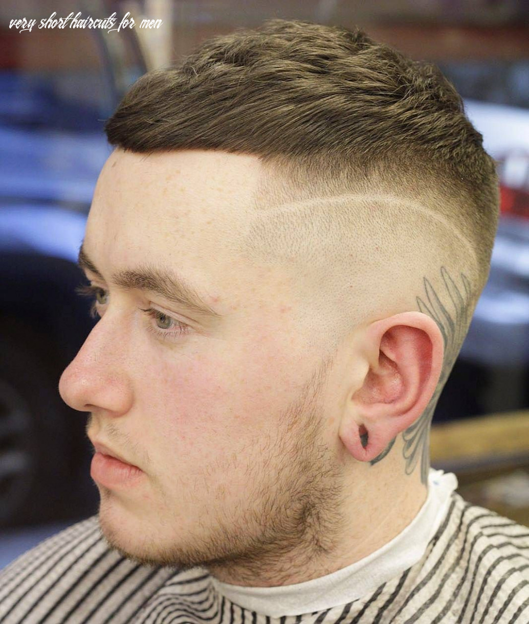 9 very short haircuts for men (with images) | very short