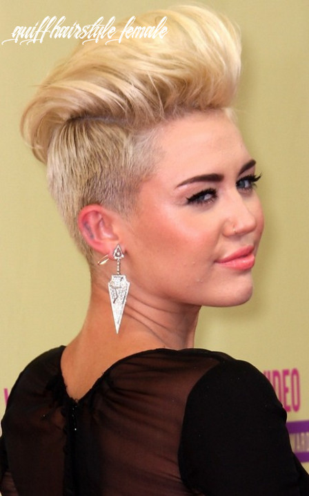9+ Womens Quiff Haircut, Great Style!