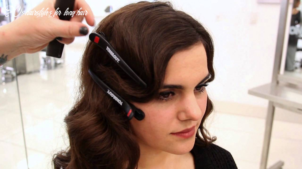 9s inspired faux bob   updo hairstyle tutorial 20s hairstyles for long hair