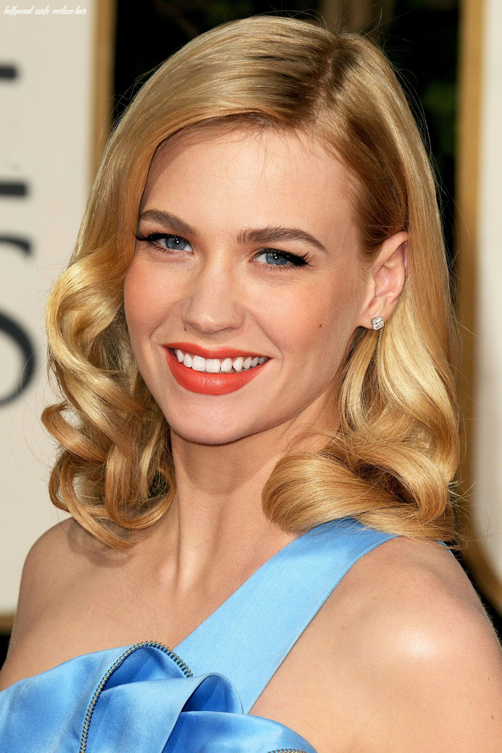 A-List Clientele: January Jones (With images) | Old hollywood hair ...