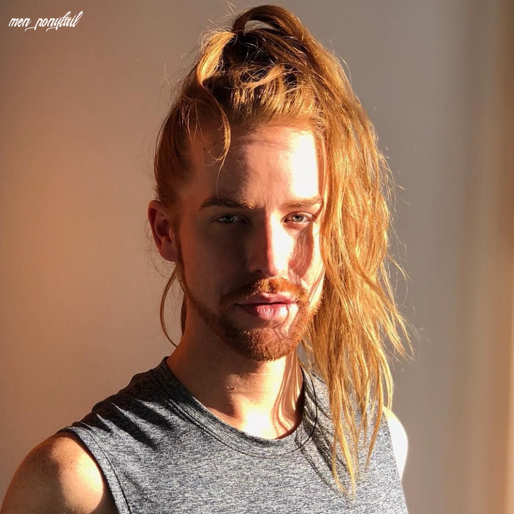 A man ponytail will never go out of style find the best ideas for