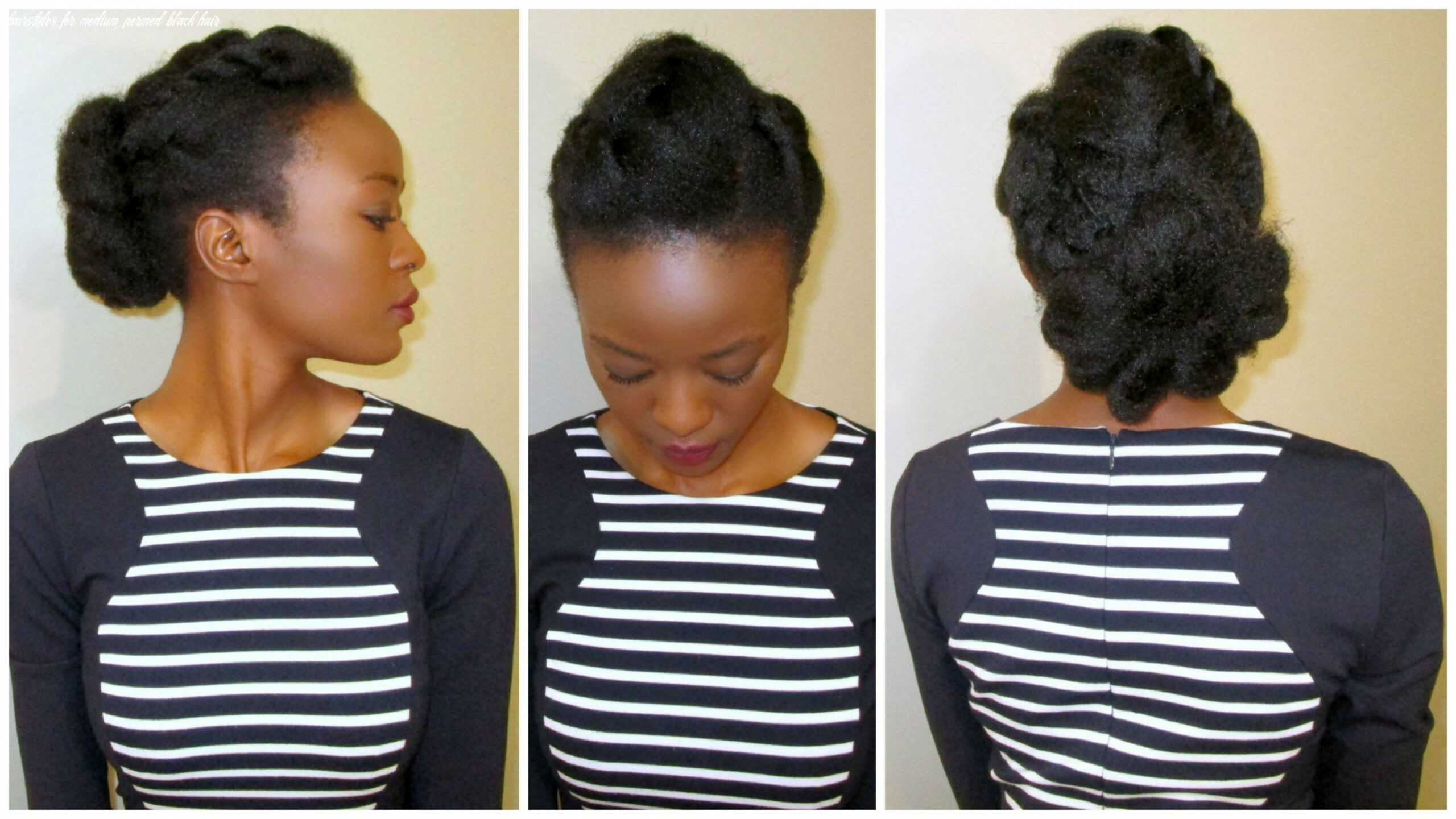 African permed hairstyles inspirational african american medium
