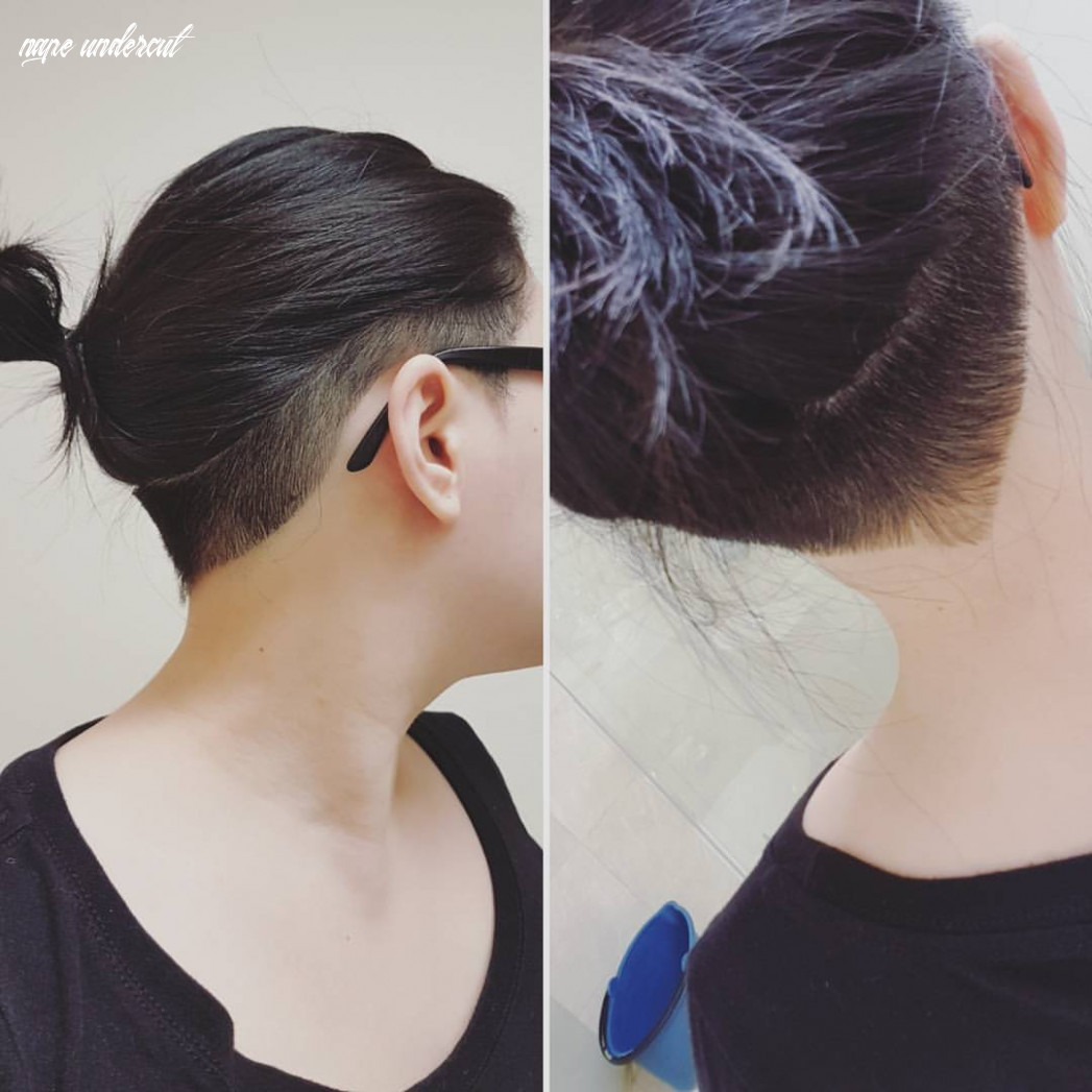 Always wanted to try this style! a simple side and nape undercut