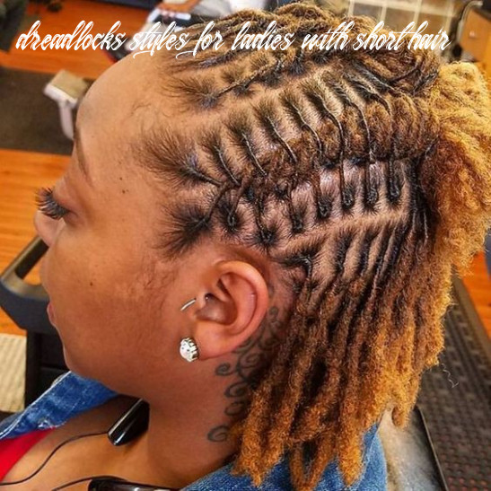 Amazing & simple short dreadlocks styles for ladies dreadlocks styles for ladies with short hair
