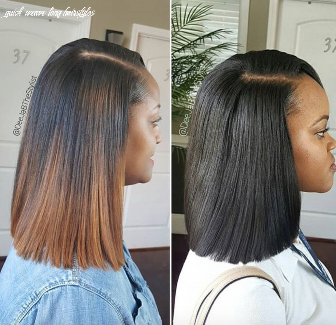 Amazing sew in vs quick weave by @deejabthestylist https