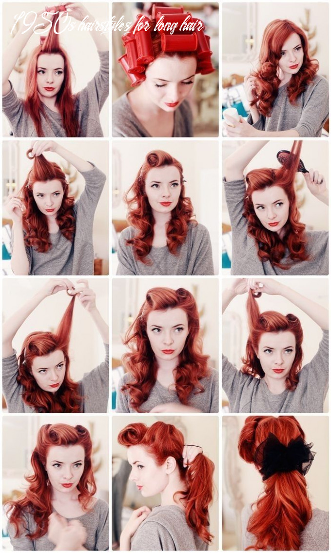 Amazing step by step rockabilly hairstyle tips   vintage