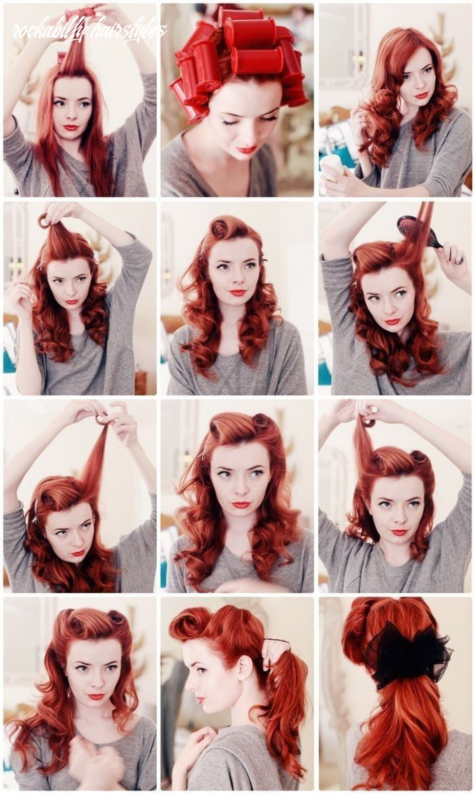 Amazing step by step rockabilly hairstyle tips | vintage