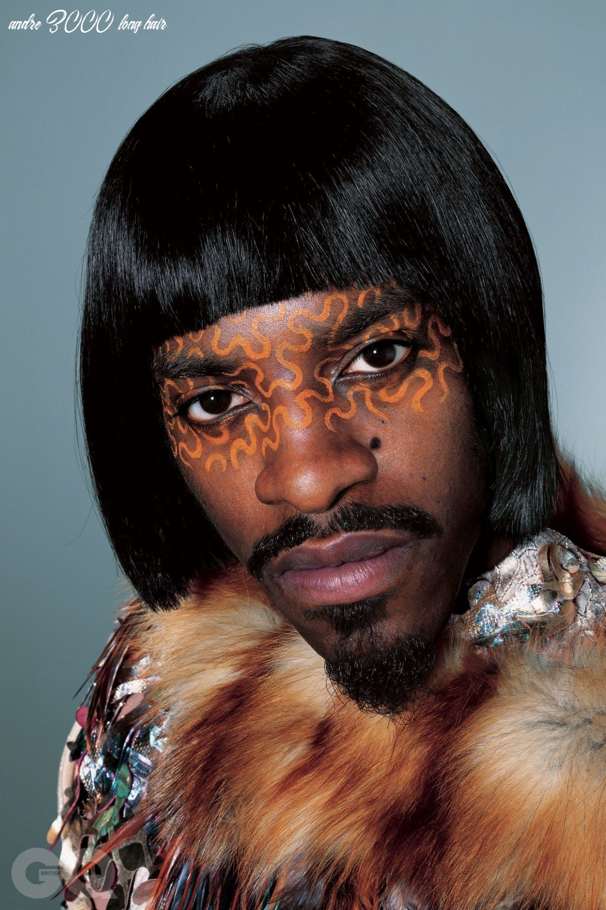 André 10, outkast, interview | british gq andre 3000 long hair