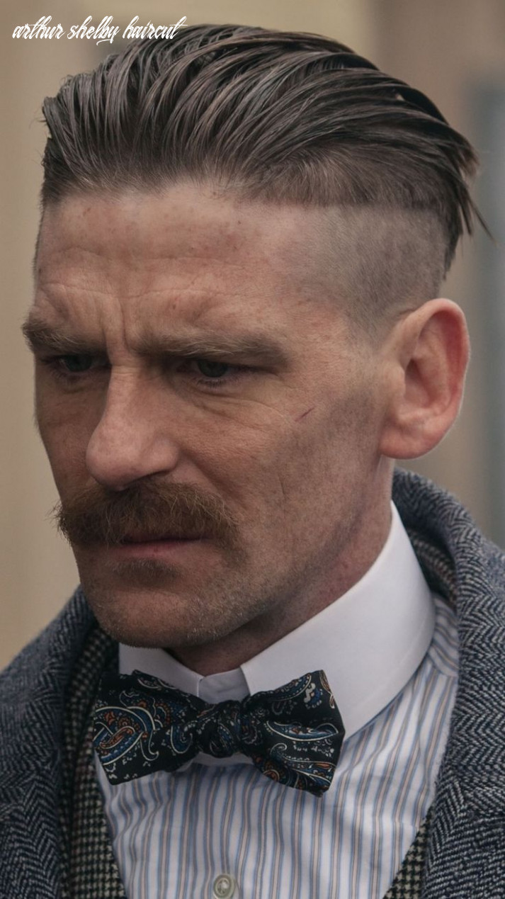 Arthur shelby peaky blinders   coiffure homme, coiffures