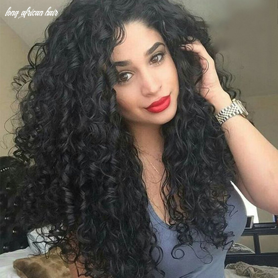 Asifen swiss lace front wigs 9 cm afro kinky long curly hair
