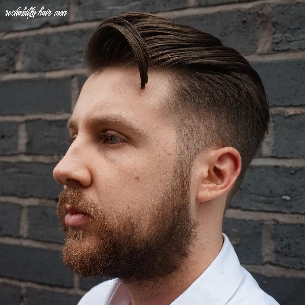 Awesome 12 fabulous rockabilly hair for men epochal tradition