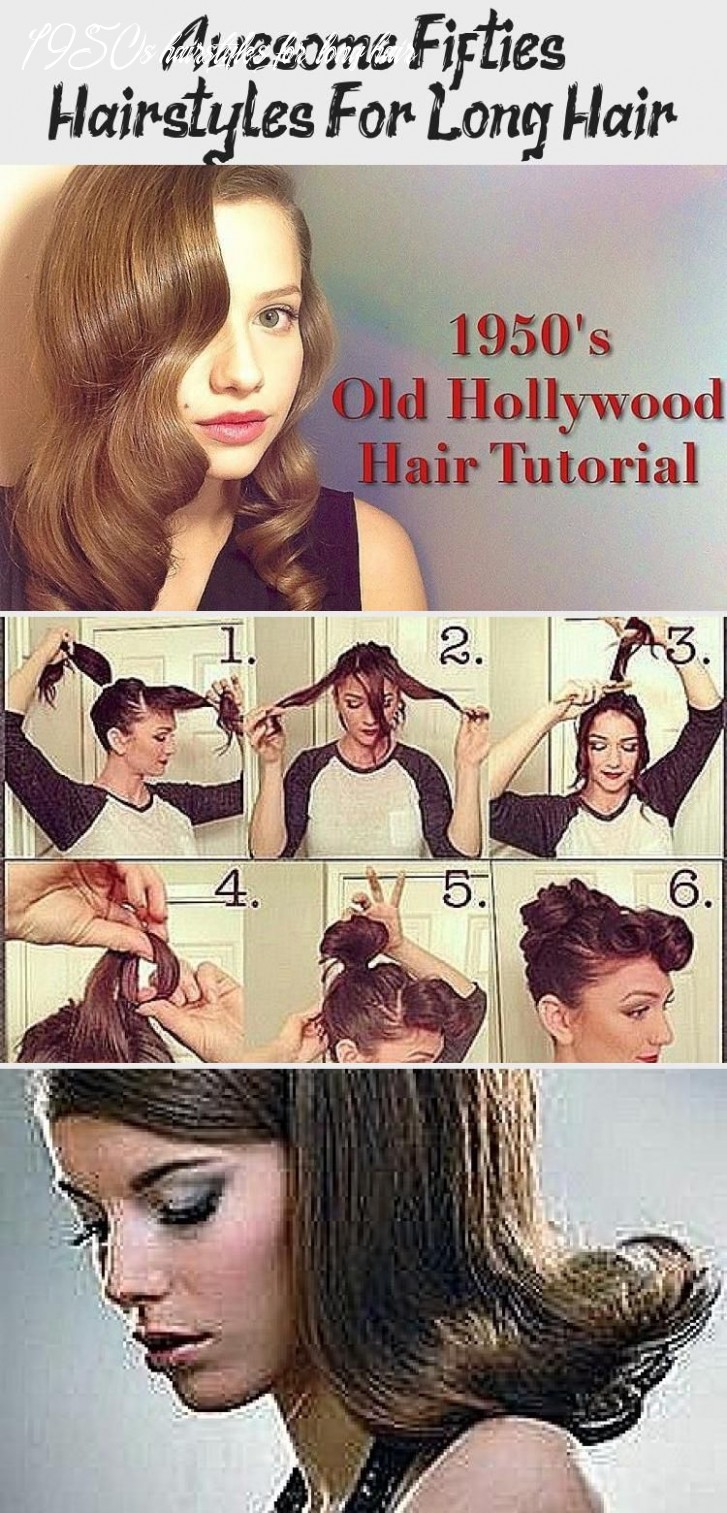 Awesome fifties hairstyles for long hair #12slonghair   long