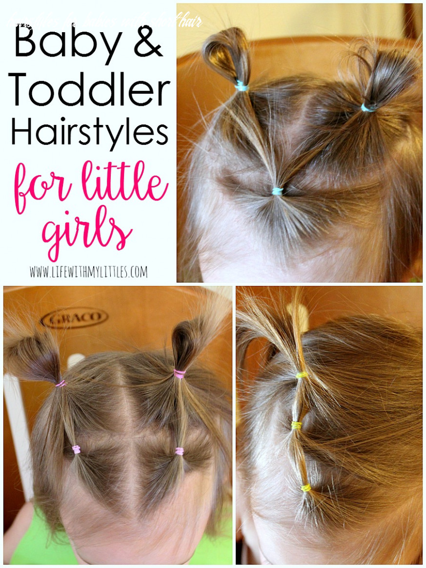 Baby and toddler girl hairstyles life with my littles hairstyles for babies with short hair