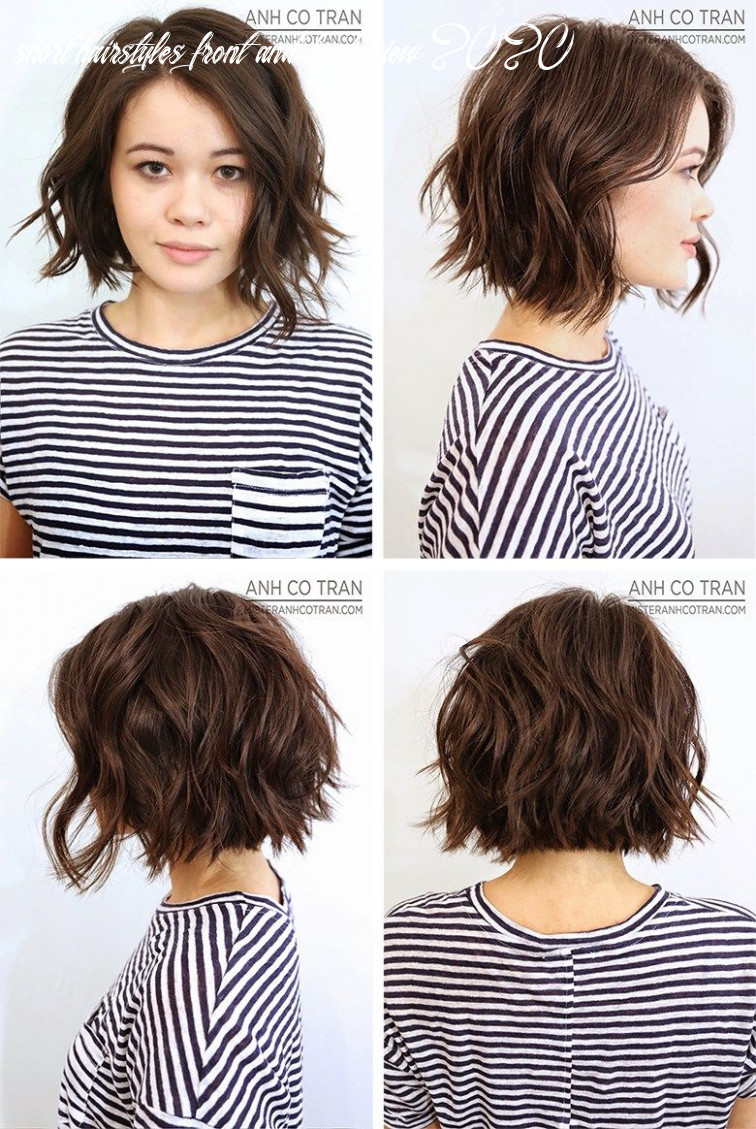 Back of short hairstyles for women anh co tran bob front left side