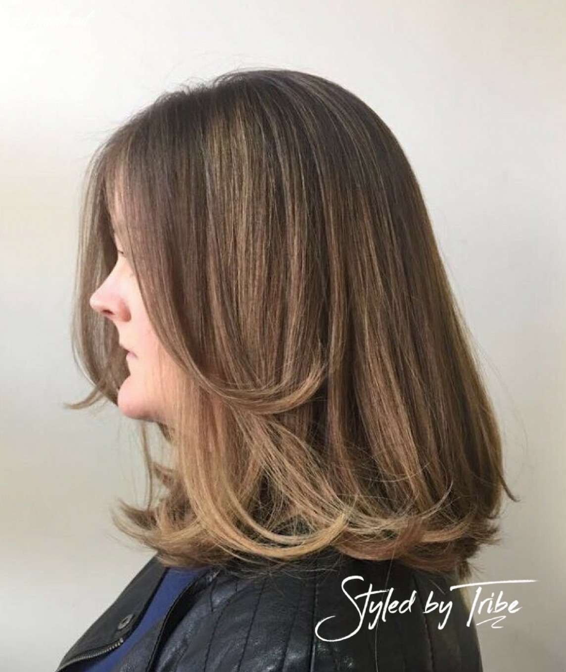 Balayage & Mid Length Cut | Styled By Danielle - Tribe Hair Salon