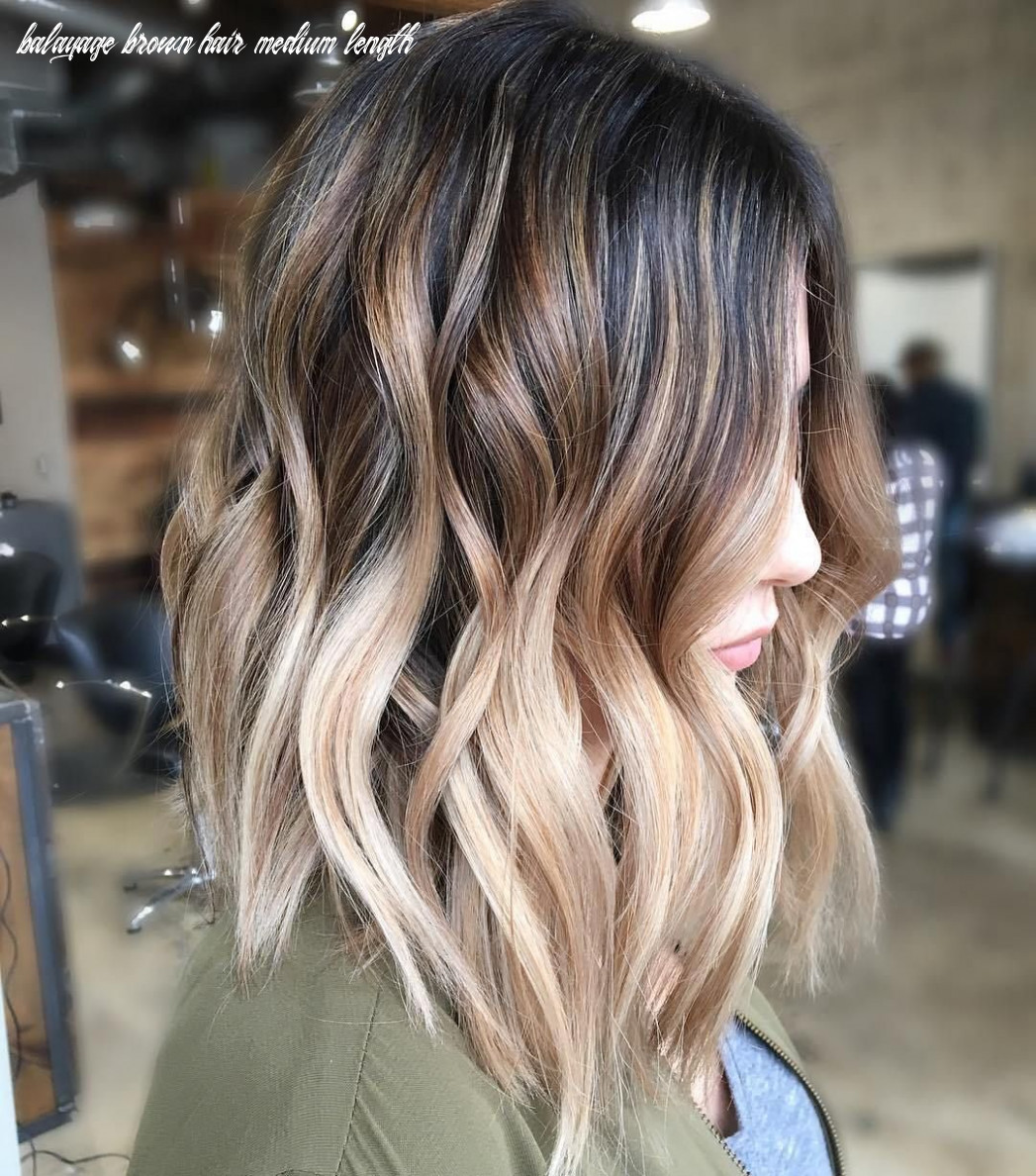 Balayage Ombre Hair Styles for Shoulder Length Hair | Hair color ...