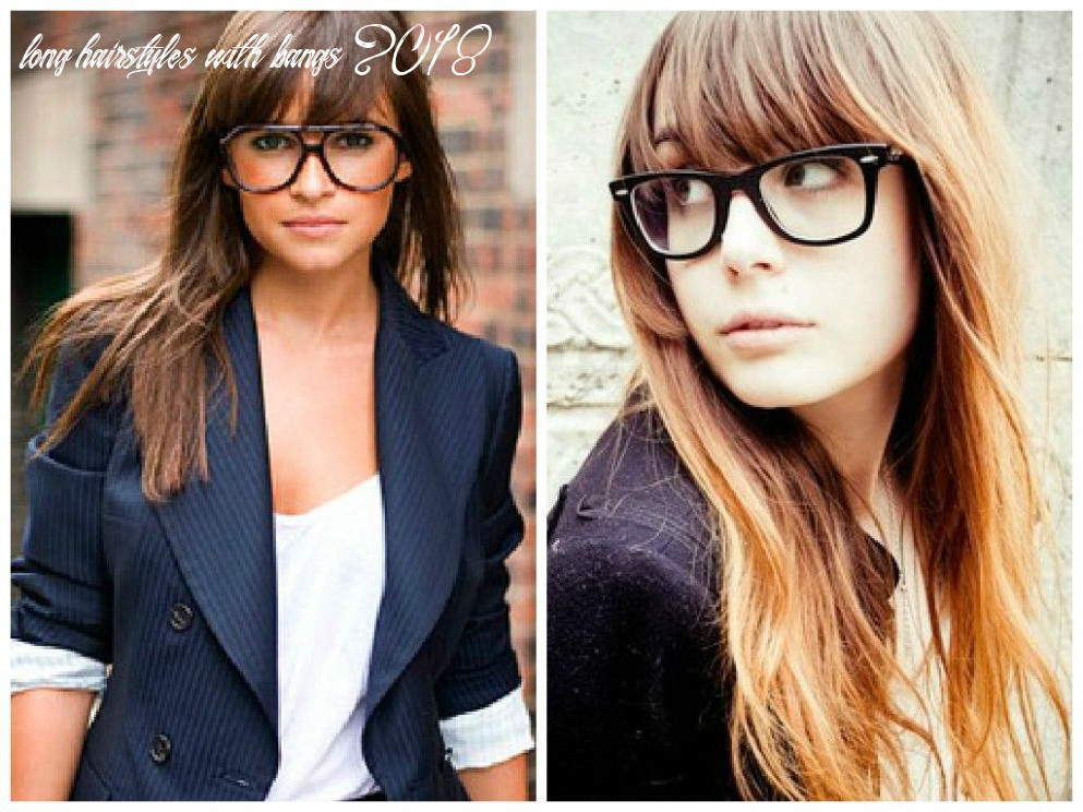 Bangs and Glasses Hairstyle Ideas | Bangs and glasses, Hairstyles ...