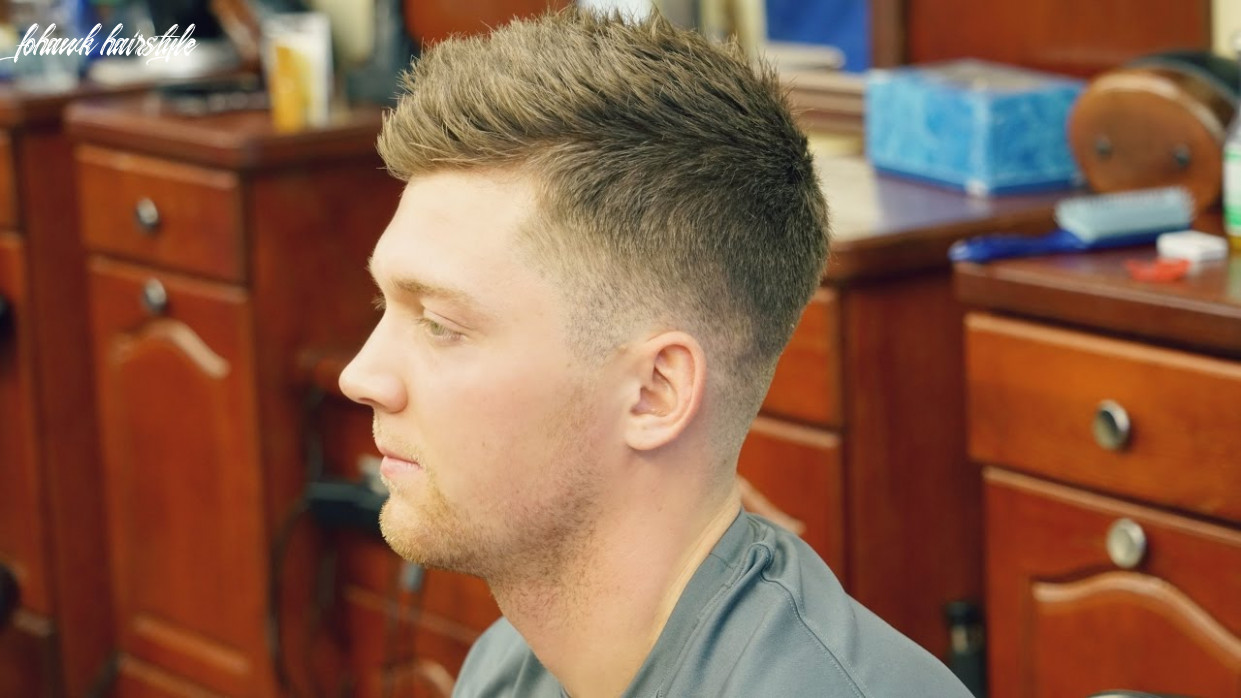 Barber Tutorial: How to Cut a Fohawk with a Fade