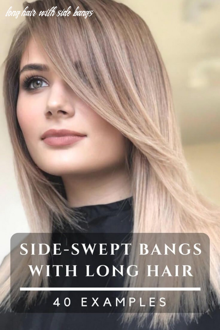 Beautiful hairstyles with side swept bangs for long hair plenty