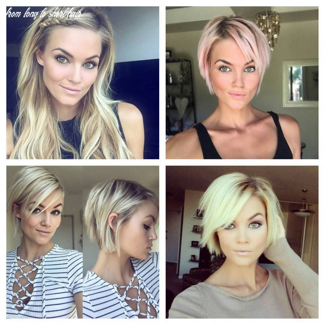 Beautiful @krissafowles and her path from long to short hair pixie