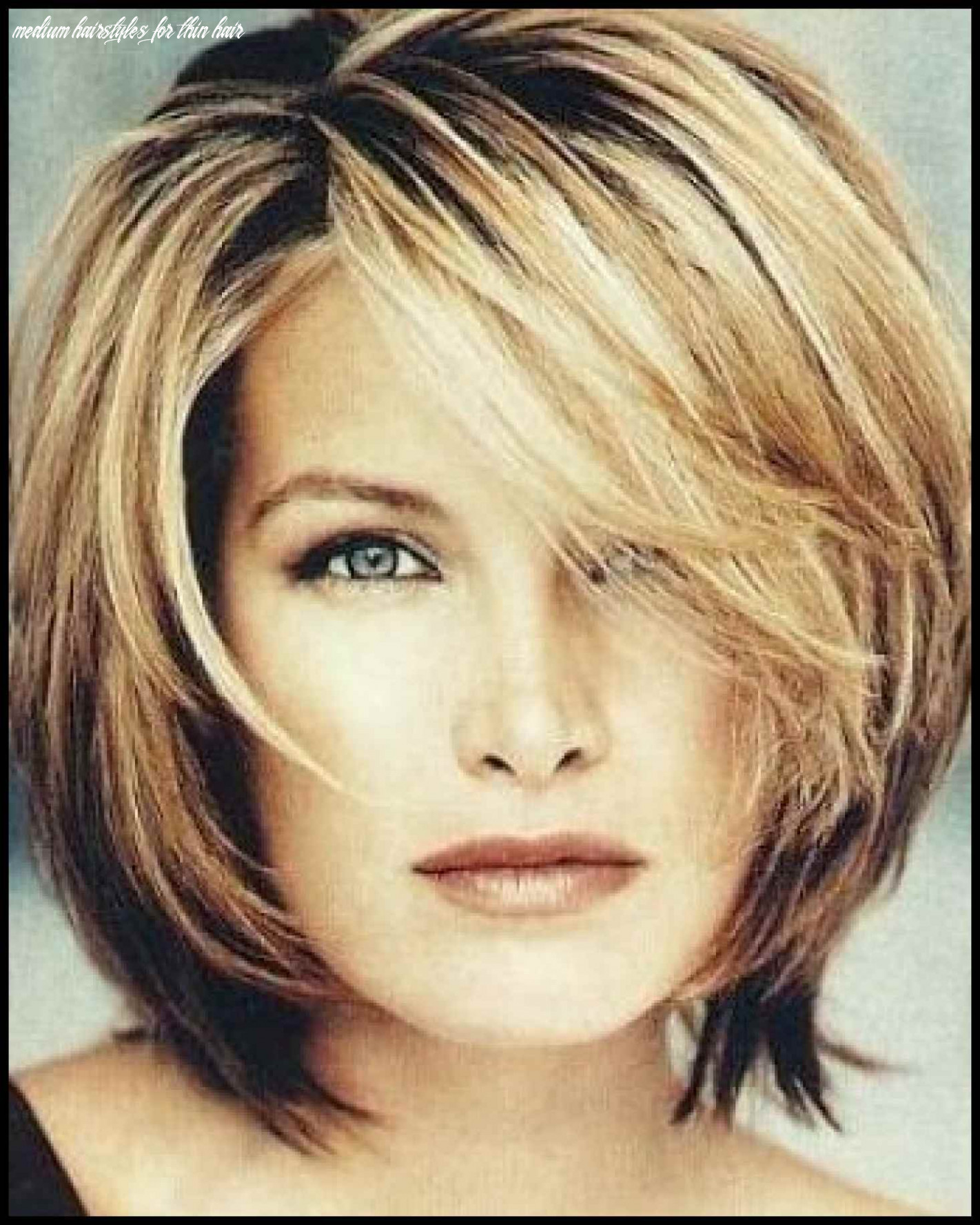 Beautiful Medium Short Hairstyles For Thin Hair Gallery Styles In ...