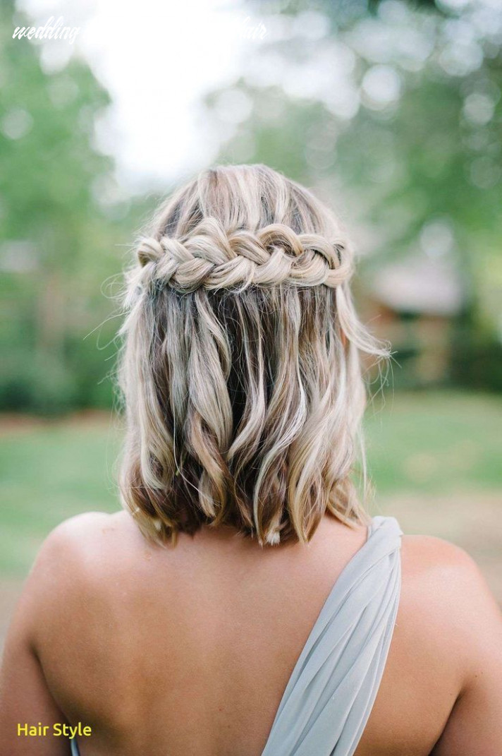 Beautiful wedding hairstyles for short hair braid | frisuren