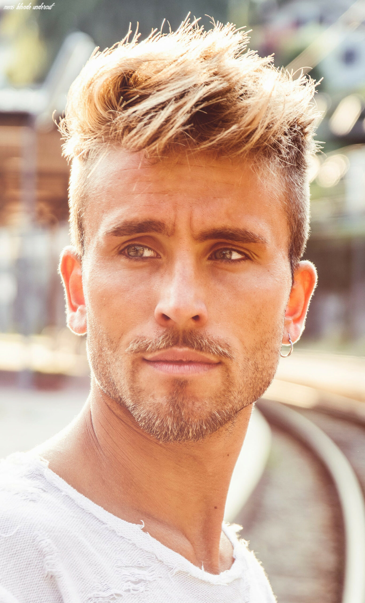 Best 11 blonde hairstyles for men to try in 11 mens blonde undercut