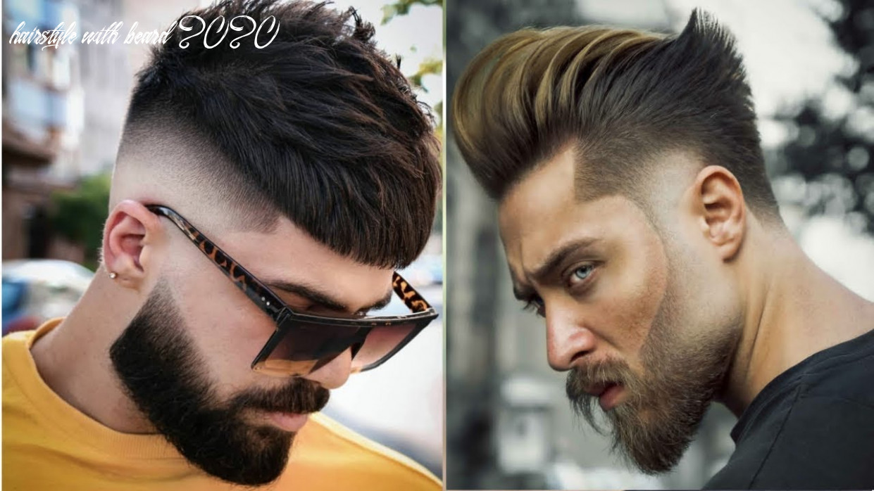 Best haircuts for guys 8   beard with hairstyles for men 8