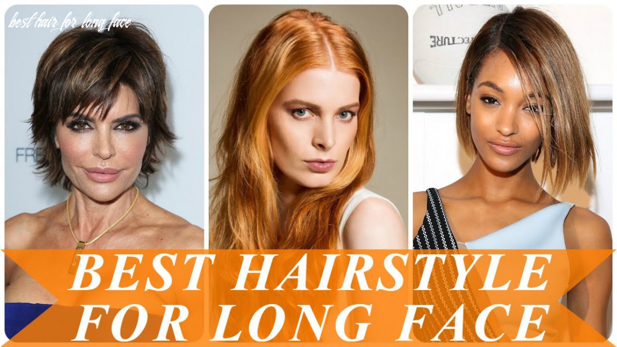 Best hairstyle for long face youtube best hair for long face
