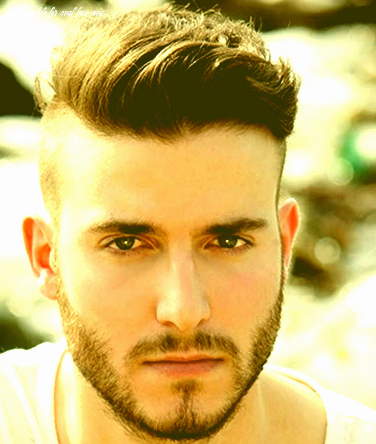 9 Best Hairstyle For Oval Face Men - Undercut Hairstyle