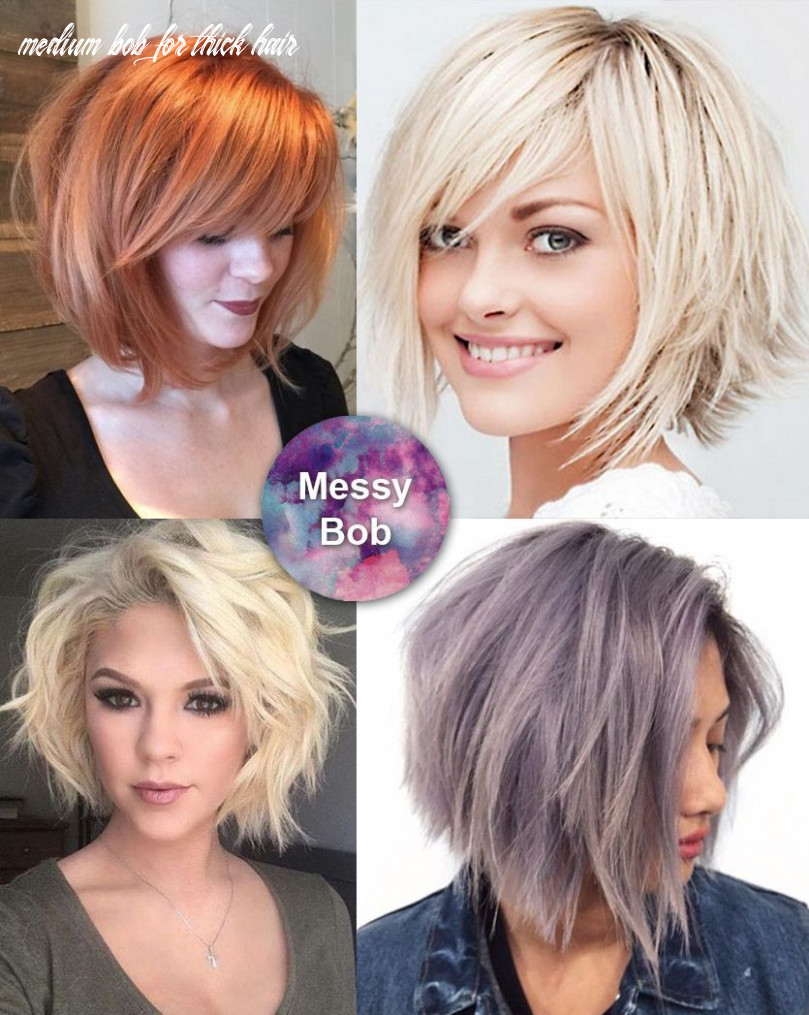 Best medium length hairstyles for thick hair | thick hair styles