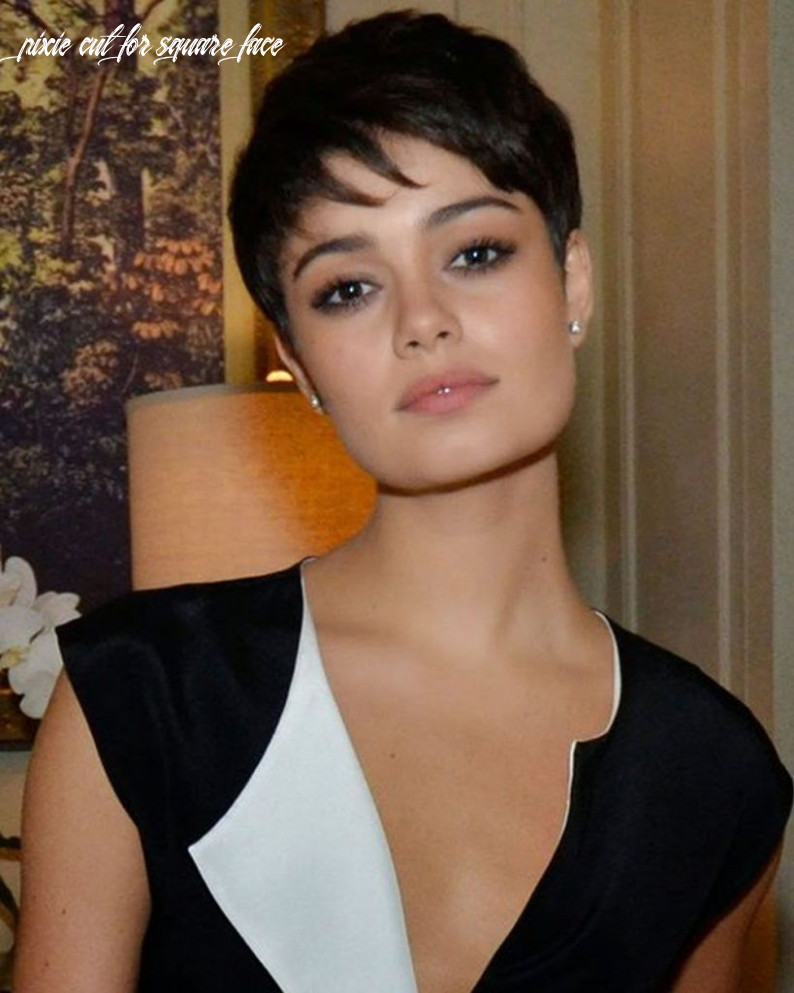 Best short hairstyles for women with square faces | square face