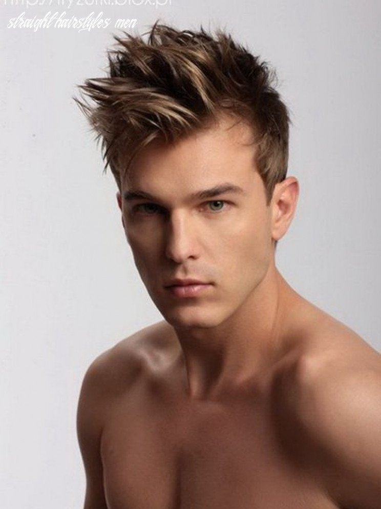 Best Straight Haircuts Men - Haircut Today