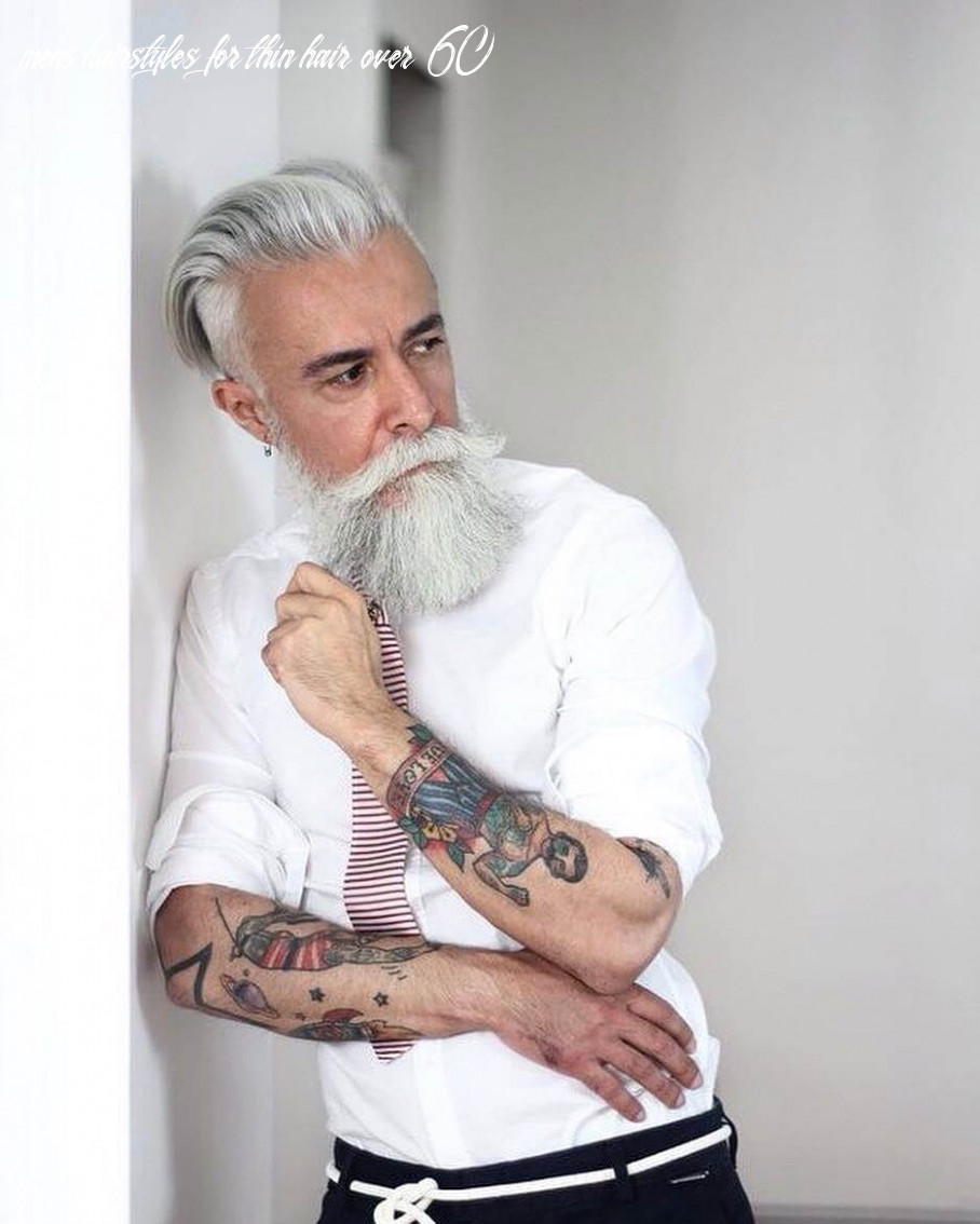 Best thin hair hairstyles for men over 10 | fashionterest mens hairstyles for thin hair over 60