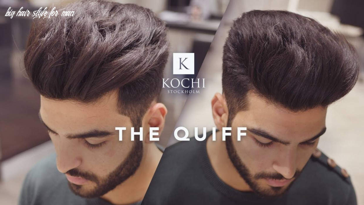 Big volume quiff mens haircut and hairstyle 8 big hair style for man