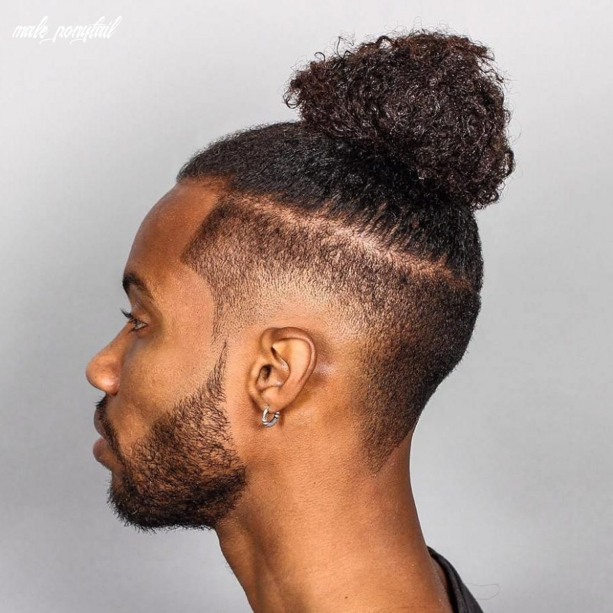 Black Male Ponytail Hairstyles – name