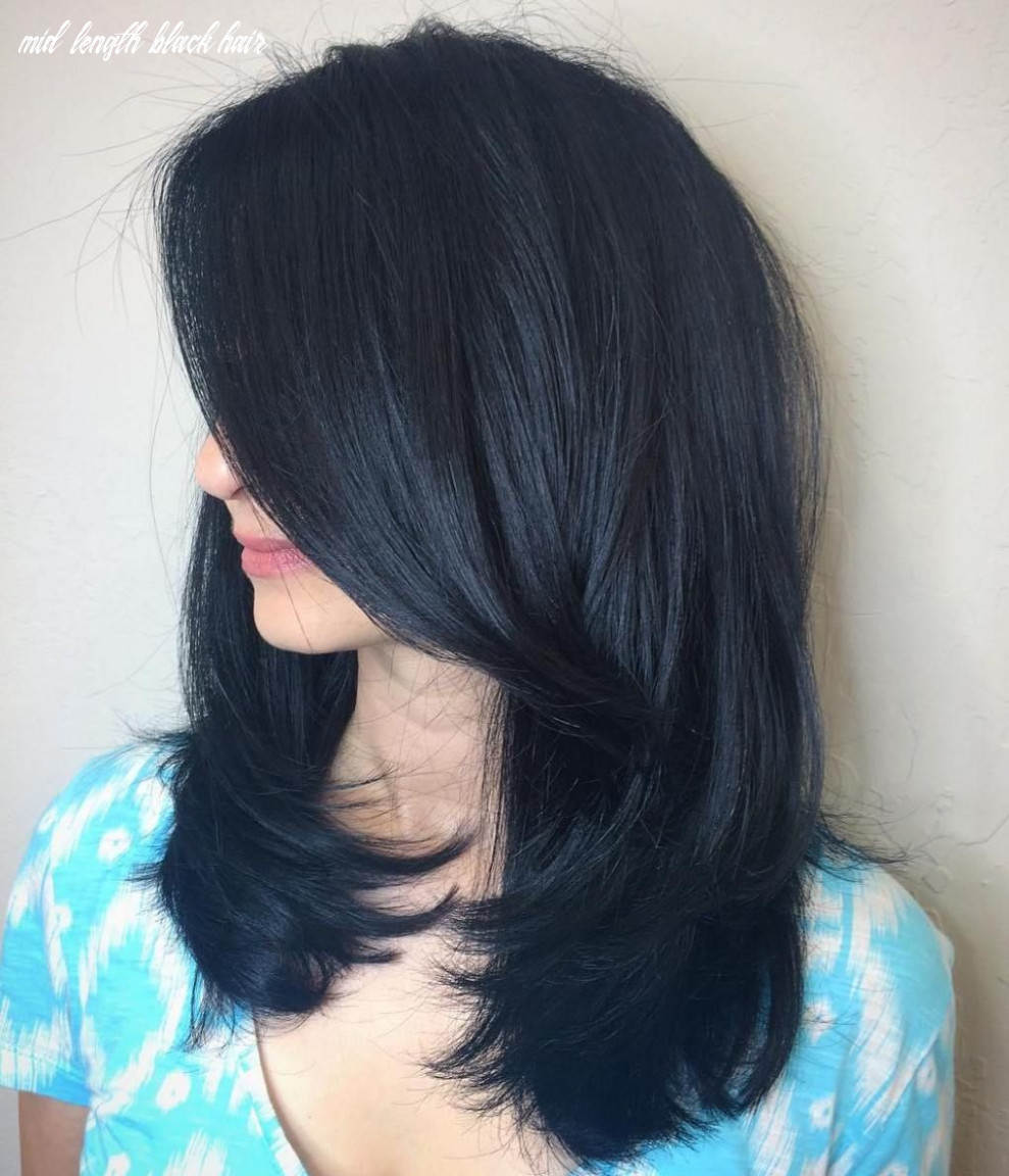 Blue black hair: how to get it right   hair color for black hair