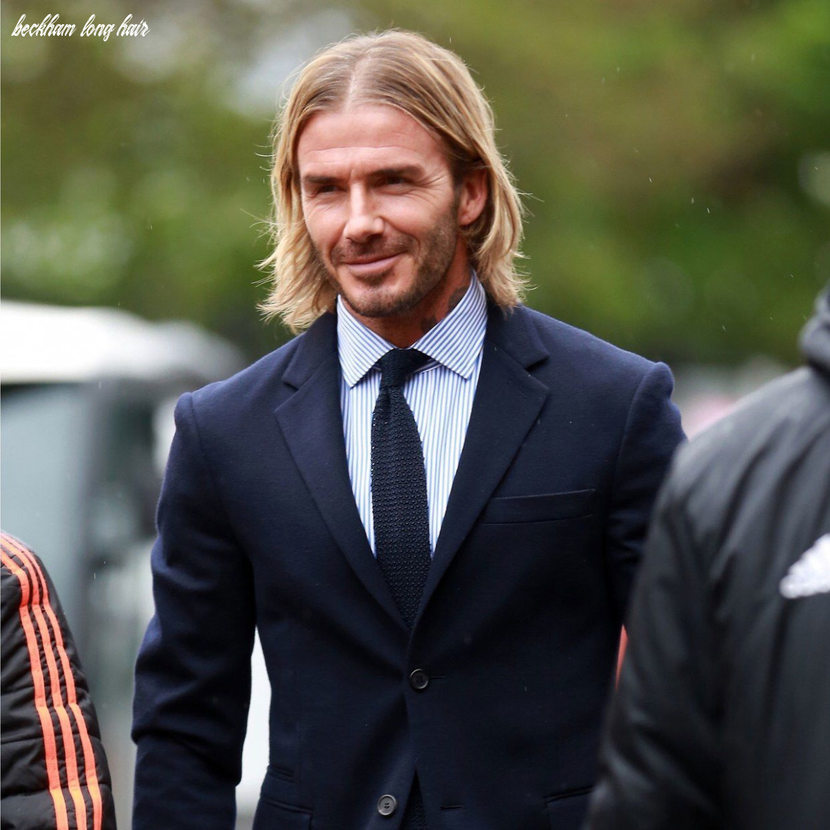 10 Beckham Long Hair - Undercut Hairstyle