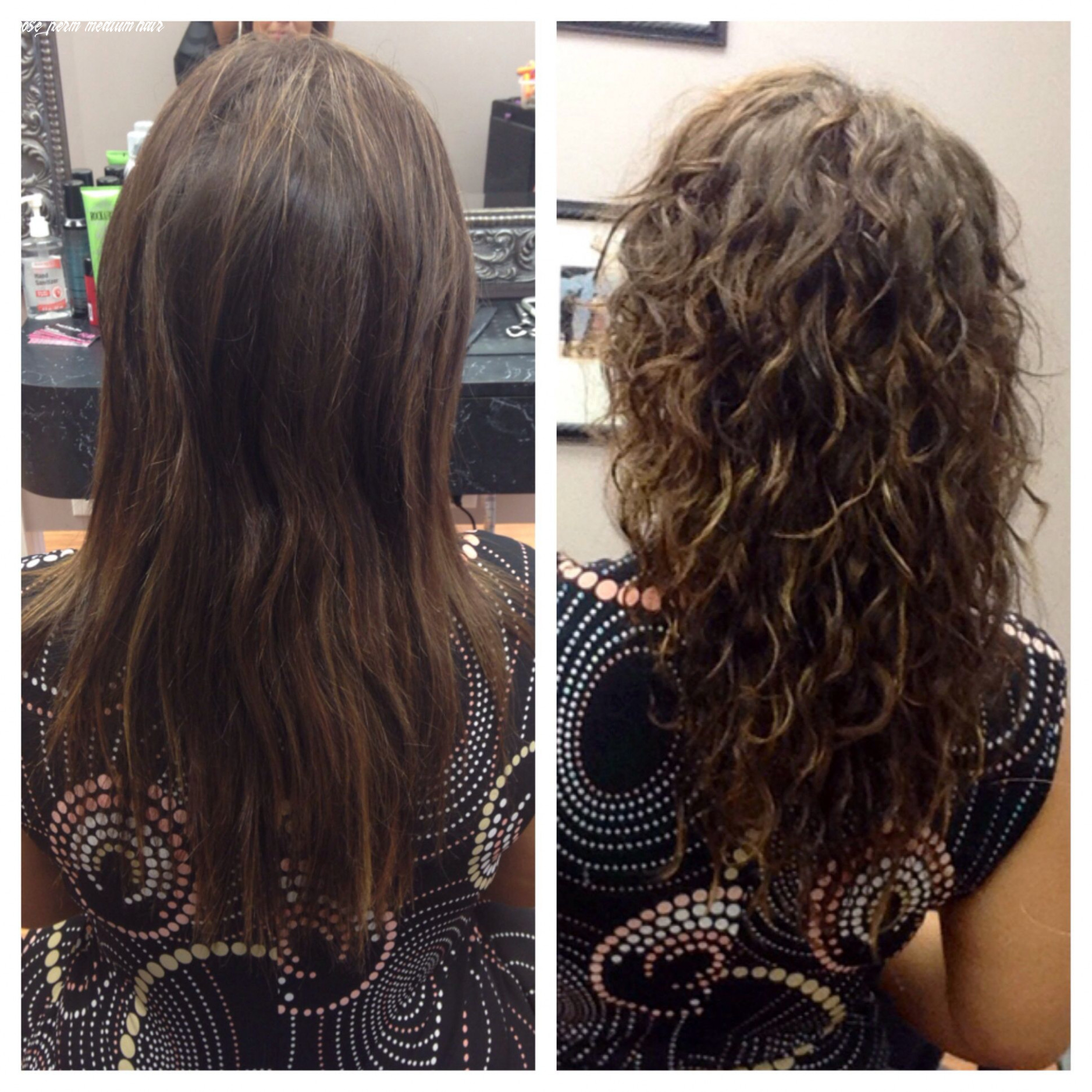 Body wave perm before and after   long hair perm, permed