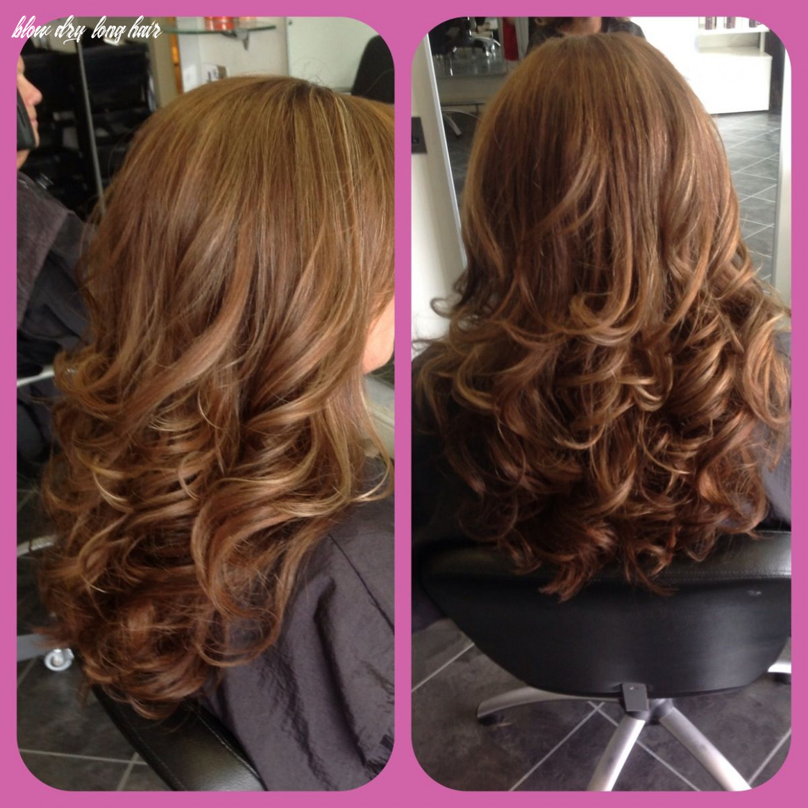 Bouncy blow dry (with images)   curly blowdry long hair, blow dry