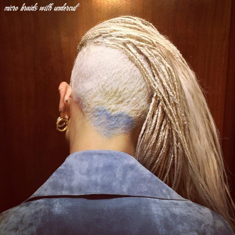 Box braids with shaved sides: 9 stylish ways to rock the look micro braids with undercut