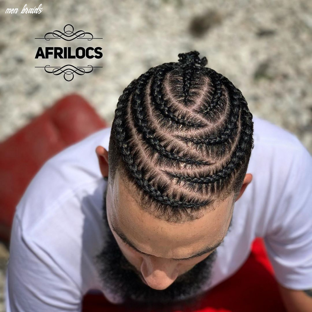 Braid hairstyles for men | mens braids hairstyles, cornrow