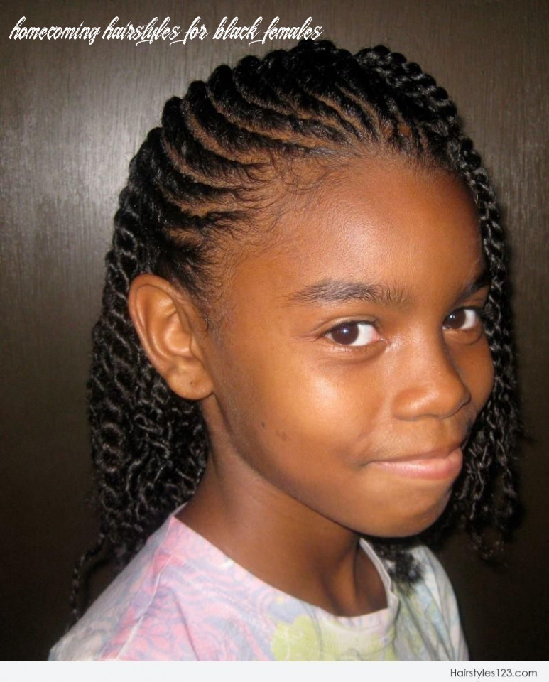 Braided hairstyles for black girls | natural hairstyles for kids