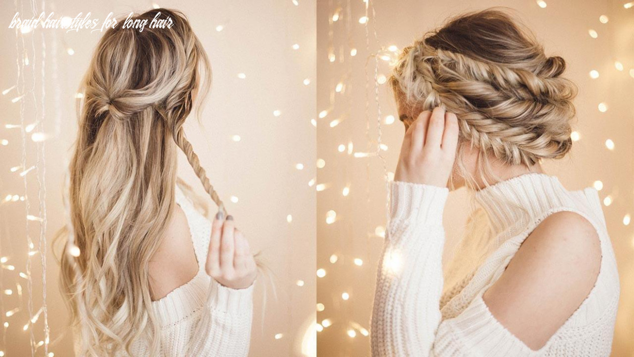 Braided Halo Hairstyle: Easy Updo for Long Hair