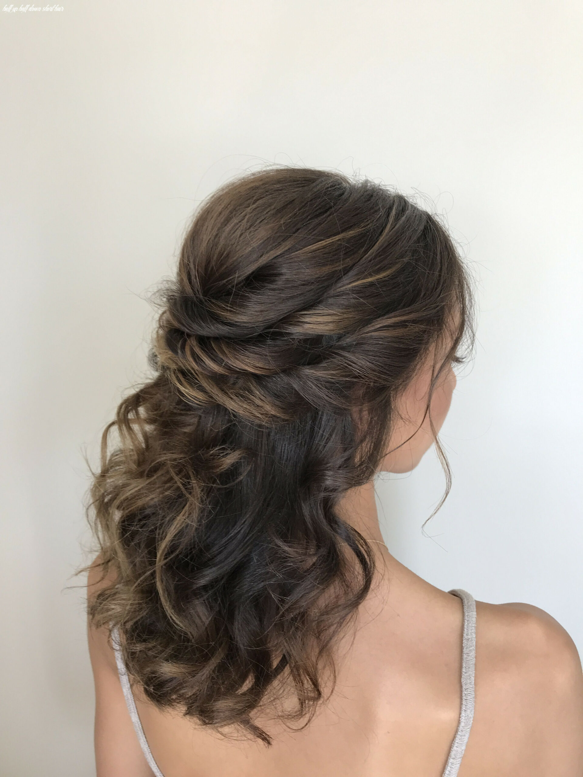 Bridal hair half up half down (With images) | Wedding hairstyles ...