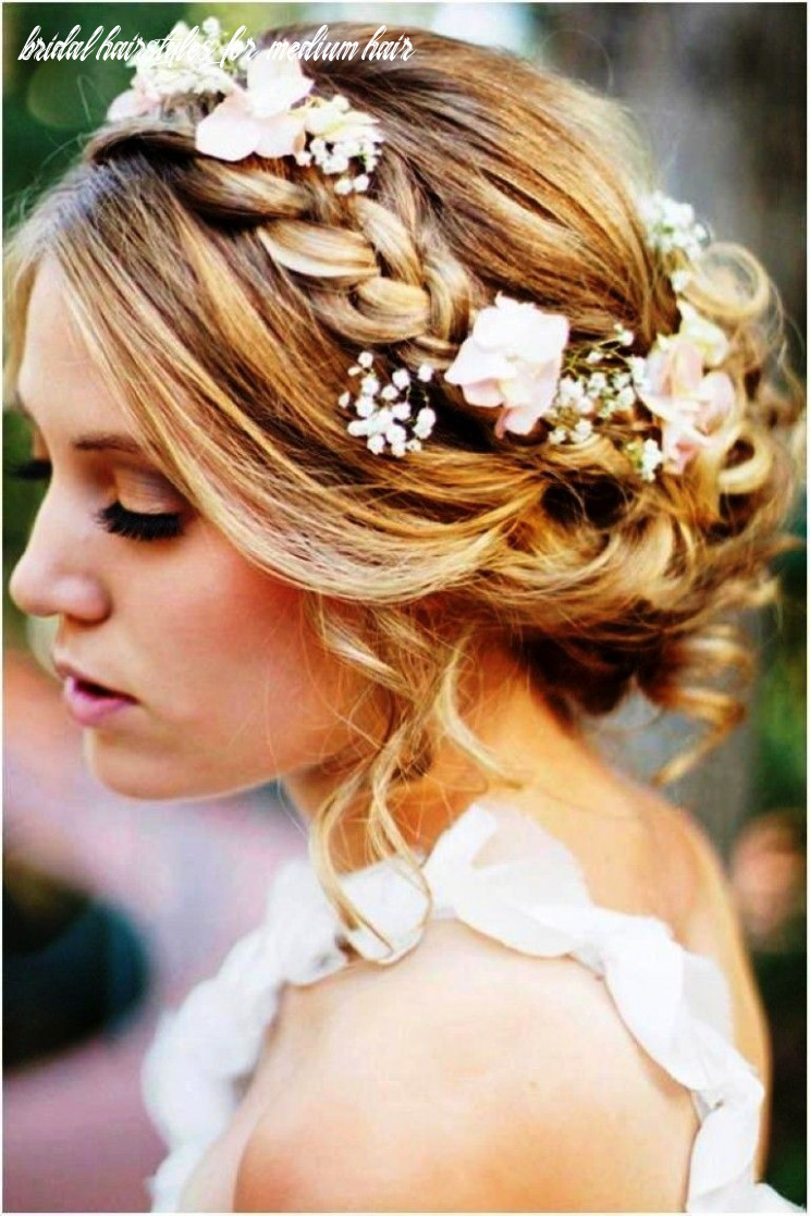 Bridesmaid hairstyles for medium hair | wedding hairstyles for