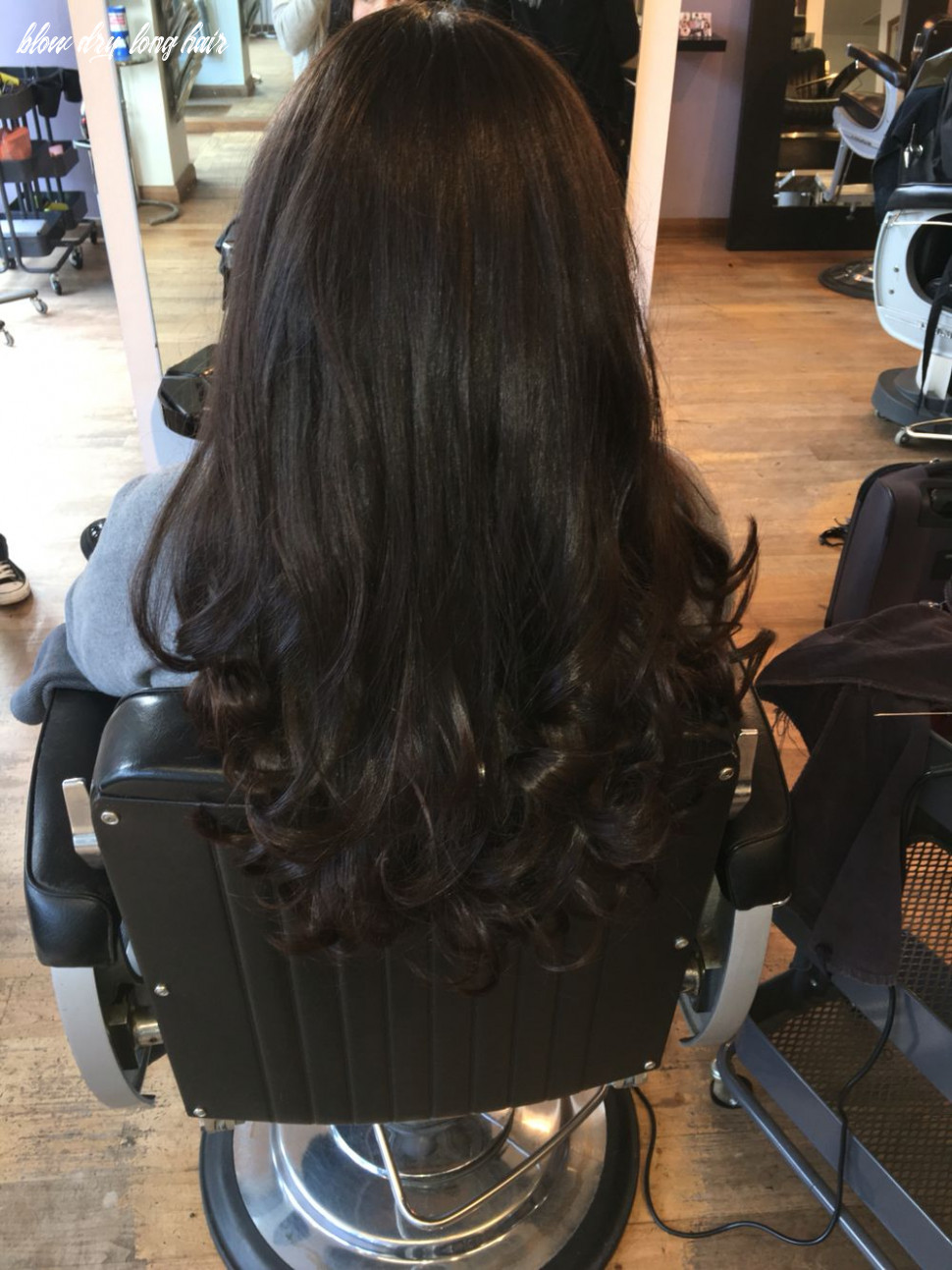 Brunette, bouncy, volume curly blowdry (with images)   long hair