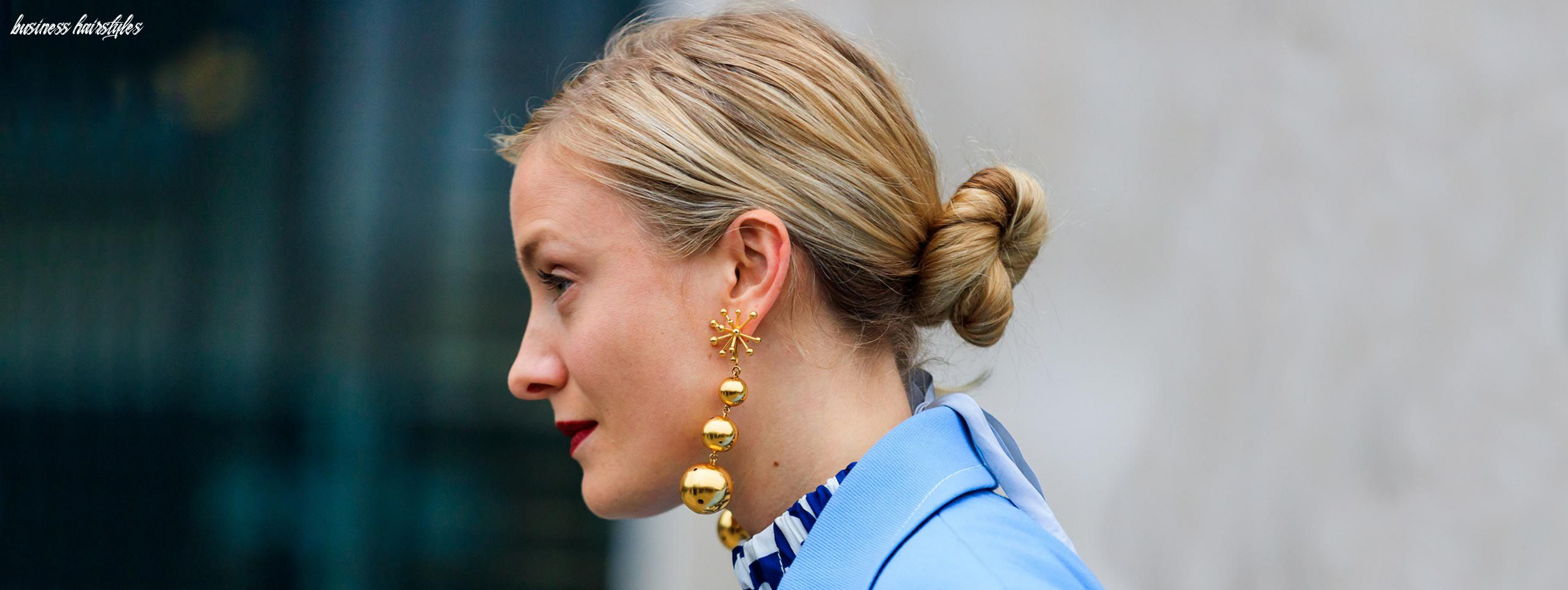Business hairstyles: score points at work business hairstyles