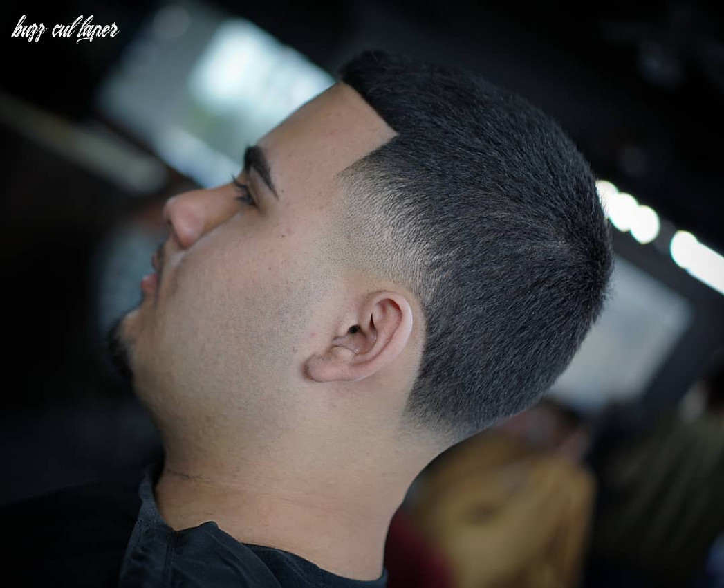 buzz cut with taper fades - MENHAIRDOS
