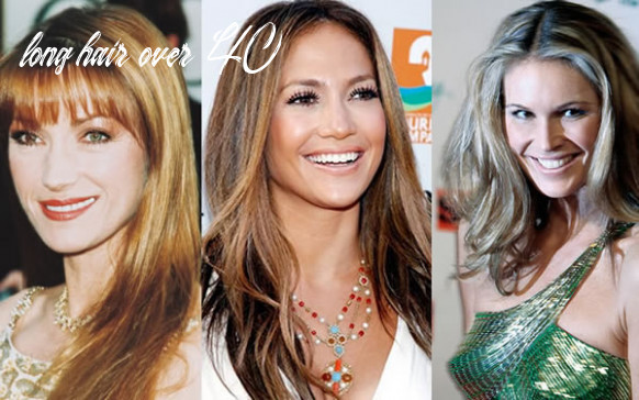 Can women over 11 wear long hair? how to wear long after 11 long hair over 40